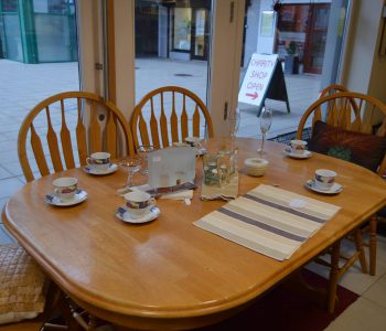 Check Out This Lovely Dinner Table And Chairs We Have In Store