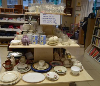 Large Selection Of Plates, Cups, Bowls, And Other Kitchenware In Store