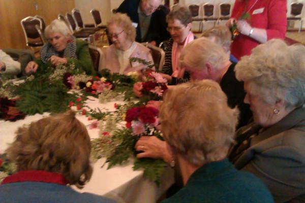 Flower Arranging session